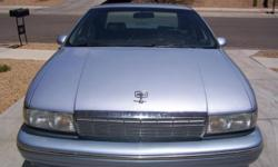 1994 Chevy Caprice Luxury Sport, 108K, power everything, strong LT1 engine, interior is in good condition(no rips or tears), looks and runs great, passed emissions, & registered till July 2012.
