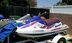 94 kawasaki 750 sx and 89 yamaha waverunner with trailer both in running condition new tires on trailer $2000.00 O.B.O. (562) 947-1096