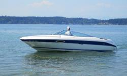 Very nice 94 SeaRay 22ft cuddy cabin boat, well takin care of always garaged, has inboard/outboard, porta/pote, built in water hose, + extras, this boat is located at the Narrows Marina, its has garage # 1 closest to boat hoist, $8700.00obo does not have