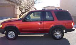 1999 Ford Explorer Sport, car is nice, manual transmission, V6 powerful engine, runs smooth, good tires, a/c, 140K.