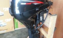 2015 Suzuki 9.9, long shaft, electric start outboard, brand new. I bought it late last summer to use for a kicker on my boat and then sold the boat without the kicker. 4 stroke. Suzuki is the most fuel efficient, lowest maintenance, longest