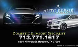 A Auto Repair.. We offer Payment plans!! we do BODYSHOP!!! At your convenient... Fix your car! If you don't know what's wrong with it then bring by to get it diagnosed today.... Let us scan it && tell you the problem to it... All