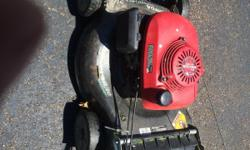 It's a Honda convertible push mower,I'm askin for $200 but will go down,runs and cut great.