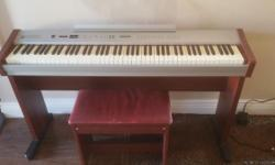 Digital piano in great condition. Includes bench