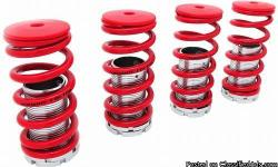 I SELL HONDA AND ACURA AFTERMARKET PARTS. I HAVE A SET OF BRAND NEW COILOVER SUSPENSION FOR SALE. THESE WILL FIT ANY 1988-1991 CRX, 1988-2000 CIVIC, 1990-2001 INTEGRA, 1994-1997 ACCORD, 1992-1996 PRELUDE OR 1993-1997 DEL SOL $45 FIRM ALL PARTS ARE BRAND