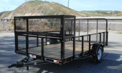 """All Load Trail Trailers on sale- Only a few left/ These trailers wont last long at this price- For a full list of clearance trailers veiw our website under """"Load Trail"""" or give us a call Standard Features GVWR: 2,990 lb GAWR: 3,500 Lb (ea axle) Couplers:"""