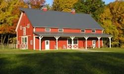 New York Pole Barns, Inc. is a NYS based designer and builder of custom post frame buildings. (pole barn). Buildings that we design and build are agricultural, equine, salt storage, restaurants, residential garages, storage, retail, warehouse, and