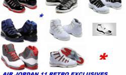 Brand Ne Air Jordan 11 Retro Exclusives On Sale at Usa Wholesales Limited Stock !!!! Hurry Visit http://www.usawholesales.com/men-air-jordan-shoes/ NOW