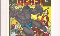 """Amazing Adventures Featuring The BEAST #11 Cover Poster 6.5""""x10"""" - hand made from photos from comic magazines *Cliff's Comics & Collectibles *Comic Books *Action Figures *Posters *Hard Cover & Paperback Books *Location: 656 Center"""