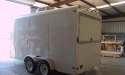 """Stock#:custom order Serial#:order Description ::: the extra options that come in this trailer include: 1.) 12"""" of extra height 2.) 36"""" side door upgrade 3.) triple tube tongue w/ tongue plate 4.) atp generator box on tongue 5.) electrical package 6.)"""