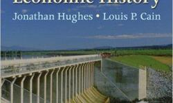 ? American Economic History demonstrates how an understanding of our past can illuminate economic issues that face society today and in the future. ? Language: English ? Edition: 8th ? Author: Jonathan Hughes & Louis P. Cain ? Note: Except Cash