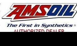 We carry a vast assortment of all your Amsoil products. This weeks special is Motor Cycle Fuel Injector and Octane boost, Regulary $11.79 a bottle on special for $6.99. We also carry a full line for automobiles and Desel trucks, This is a phone order only