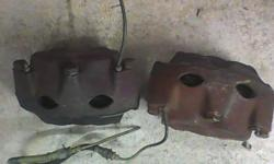 They came from a 68-69 amx. They may fit other AMC models..4 piston calipers-BENDIX. They were rebuilt with new pads..BUT, removed from car about 15 yrs now, so I cannot attest to there working condition.. PLEASE CALL FIRST, thanks 847 609 9001 847 293