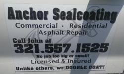 Anchor Sealcoating is offering free estimates to protect and preserve and enhance all aspects of your cement including : power washing, repair, clear seal, and also paint with many colors to choose from. Pool surounds,
