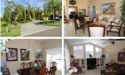 """Short Sale; Active with Contract. This well maintained beautiful 5 bedroom 3 bath split floor plan home with access to the bay/gulf. Volume ceilings, gourmet kitchen with granite counter tops & 42"""" maple cabinets. Home also offers an outdoor kitchen, deep"""