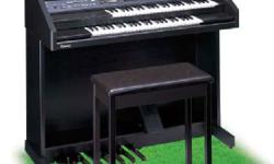 Atelier AT-10S organ in exceptionally like-new condition for sale. This organ was rarely played and is in unblemished scratch-free condition. All keys, foot pedals, and features are fully operational. User manuals are included (on CD). A great item for