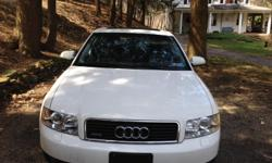 Audi A4 for sale. Great condition. Inspected August 2014. Has new brakes and rotors, leather heated seats. Price negotiable.