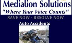 """ALL ABOUT THAT """" AUTO"""" ! Did get hit in an Auto Accident? Where you the car that hit someone causing the accident? I want to be clear. Mediation is for all sides of the claim, concern, complaint, or case ( Law Suit)! Mediators are here to offer you open"""