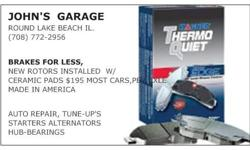 Auto Repair,Brakes,Ball Joints,Tune up's ect. () - Round Lake Beach IL.