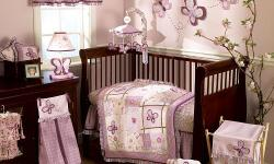 I HAVE A BEAUTIFUL BABY GIRL CRIB BEDDING SET WITH A MOBILE THE SET IS IN EXCELLENT CONDITION ONLY USED TO STAGE THE BEDROOM MY DAUGHTER NEVER SLEPT IN HER CRIB. SMOKE FREE HOME