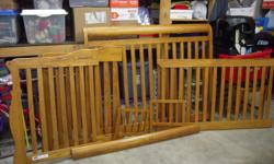 A Baby crib (bought for $450.00) selling for $150.00, very good condition, beautiful wood, converts into small child bed. If you are interested please call -- ( please no calls after 8:00 pm )