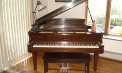 This Welte baby grand piano is in great condition and has been faithfully cared for. The Welte piano company was bought out by Steinway and Sons and this piano has the tone of a Steinway. Must be heard to fully appreciate.