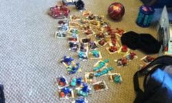 51 non metal cards, 59 metal cards and 50 bakugan figures