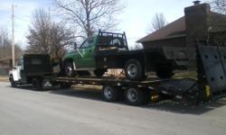 General Backhoe service. Track LoaderService also available, Demolation,general hauling.