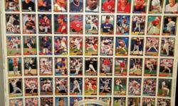 WHOLE SHEETS OF 500 UNCUT BASEBALL CARDS. WORTH THOUSANDS OF DOLLARS!