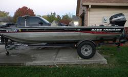 THIS BOAT IS USED BUTINGOOD SHAPEFOR ANY TYPE OF FISHING, TWO NEW FISH FINDER, TWO LIVE WELLS, TWO LIVE BAIT BOXES, SWING AWAY TONGUE WITH A 40 HP. MERCURY OUTBOARD MOTOR. PRICED FAIR. BUY NOW AND BE READY TO GO THIS SPRING!