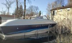 New carpet! If your looking for a boat to get out on the lakes this is a great option. Please call, email, text any time. Please leave a voicemail if you call. For sale is a well taken car of and perfectly running 17ft Bayliner Capri 1700LS open bow lake