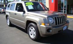 With only about 55,000 miles, this 2008 Patriot will give you many years of dedicated, unwavering service! Riding on a gas-saving 4 cylinder 2.4 L engine, you can have more money for other things while still enjoying everything this vehicle has to offer,