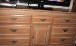 We are moving and all our stuff is for sale: 6 piece pine bedroom set includes 2 night stands Mirror Armoire jewelry drawers long dresser All in excellent shape. Must Sell $385.00 or best offer. LOTS MORE!!! JUST ASK!!!!