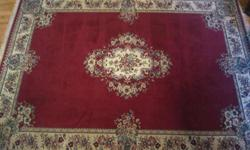 Hello, I have an antique rug that is 8 feet by 10 feet for sale. This rug has not been cleaned for a while but after you clean this rug it will look even better. I had a lady come look at the rug and she was exspecting some perfect condition from a