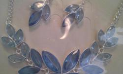 I have beautiful necklaces in 925 sterling silver . I have abalone with blue topaz, pearls and blue topaz.