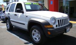 We just got in a minty 2006 Jeep Liberty 4x4 and it's inspected, detailed, and ready to roll! If you have a need for a vehicle that will handle hills and rough surfaces and anything you feel like throwing at it, this Jeep is the way to go! Ample room for