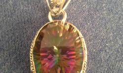 I have beautiful pendants 925 sterling silver . I have abalone, picture jasper, blue topaz, mystic topaz, and aquamarine.