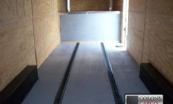 Stock #: custom order Serial #:order Description :::::: >> extra options included are: 1.) Heavy duty rear ramp door w/ ramp flap and spring assist 2.) 4 ft. Beavertail on rear end 3.) Color is