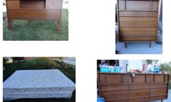 new mattress matching head board and dresser set. seperate desk for sale as well. It will be available for viewing this saturday 12/29 761 via barquero, san marcos, CA