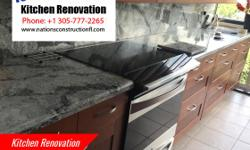 Kitchen Renovation gives your kitchen a spacious and elegant look. It also improves the storage system of your kitchen making it look spacious. Kitchen is an important place in your house so renovates it.