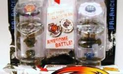 Beyblade Metal Masters Exclusive Balance Battle Top 2Pack Metal Wing Smash #BB-47A Earth Eagle and #B-106 Dark Libra! BeyBlades are new and factory sealed!