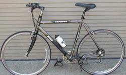 """Paid $1,000 for this bike, only 212 miles on it, excellent shape, all Shimano shifters and Shimano wheels. Extended handle bar, ergonomic seat. Suitable for someone 5'8"""" to 6'0"""""""