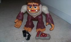 big foot toy remote control toy.great shape.great christmas gift!!!