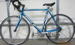 Good condition: Men's - Blue, black and silver. Trek Bontrager Road Bike $400.00: Men's-SilverCanyon18 Speed Aluminum OZONE 500 $75.00: Kids - Mako DS20 Daul Suspension Bike $45.00