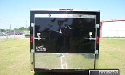 Stock #: CUSTOM ORDER Serial #:ORDER Description ::::: it's not a joke!!! This is the actual price for this brand new elite black 7x12 motorcycle enclosed trailer!!! The 7x12 single axle trailer is in my opinion, the