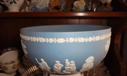 blue wedgewood bowl