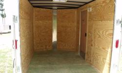 Stock #: CUSTOM ORDER Serial #:ORDER Description ::::::: rear ramp door & spring assist, 32' side door w/ rv flush lock w/ keys, l.e.d. tail lights, thermacool ceiling, interior 12 volt dome light w/ switch, non powered