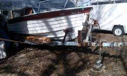 Reinell 22' 1977 good i/o motor and propell, needs some work ,more details text at #630-330-0521