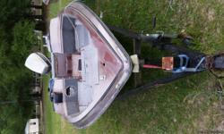 I have a procraft 1780v fish/ski for sale. Boat needs some tlc but motor is a evinrude 120 and it runs great. Asking $1000 obo.