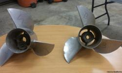 3 BLADE STAINLESS STEEL ALPHA DRIVE - WILL SELL SEPERATELY- USED